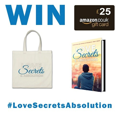 Love, Secrets & Absolution giveaway