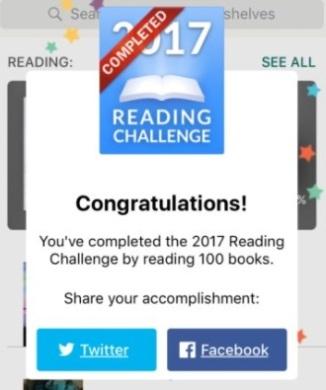 2017 100 Books Reading Challenge