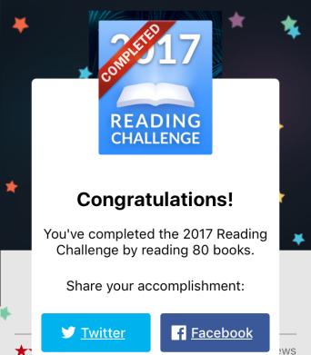 2017 80 Books Reading Challenge