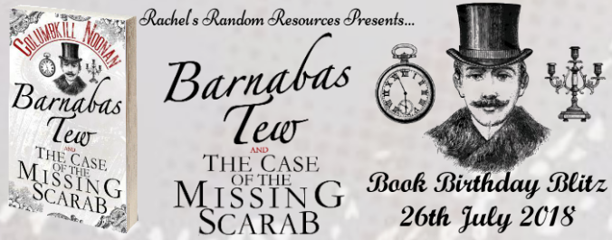 Barnabas Tew and the Case of the Missing Scarab - Banner