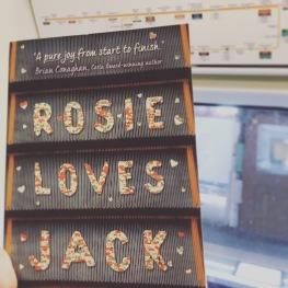 Rosie Loves Jack on the Circle line.JPG